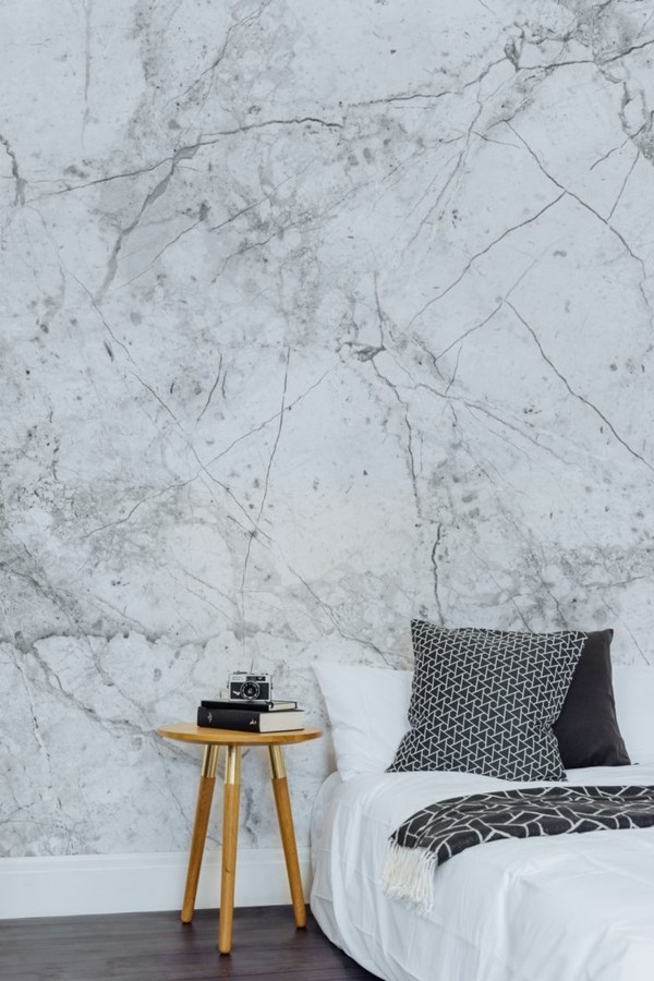 marble bedroom wallpaper
