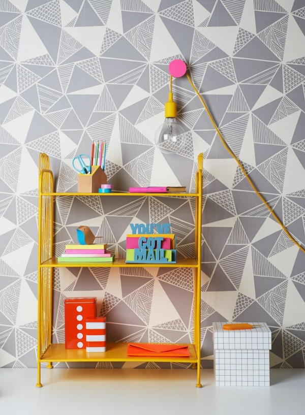wallpaper pattern beautiful pattern geometric figures wall design