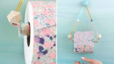 Photo of 15+ DIY and Inexpensive Toilet Paper Holder Ideas