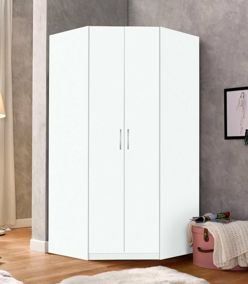 The Corner Wardrobe Saves Space In The Bedroom