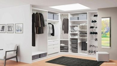 Photo of The corner wardrobe saves space in the bedroom! – 20 modern design ideas
