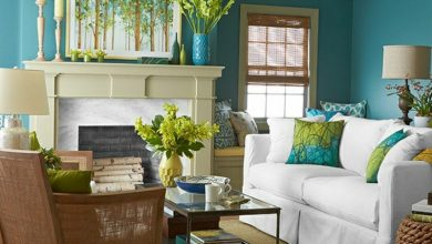 Photo of Coloring the living room: 40+ modern suggestions and tips